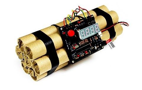 инструкция будильник-бомба